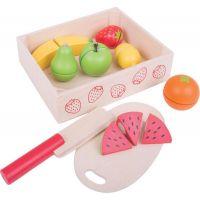 Bigjigs Toys Krájacie ovocie v krabičke