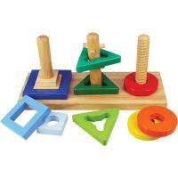 Bigjigs Toys Nasaď a otoč