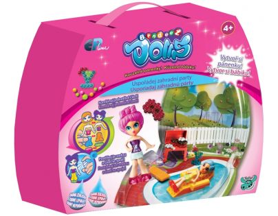 Bindeez Dolls start - Zahradní párty