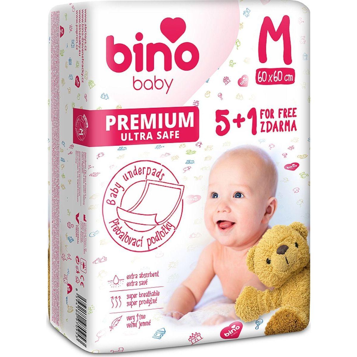 Bino Baby Podložka M 60 x 60 cm 5+1 zdarma