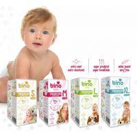 Bino Baby Premium Pleny vel. S 3-8 kg 6 x 10 ks s dárkem 2