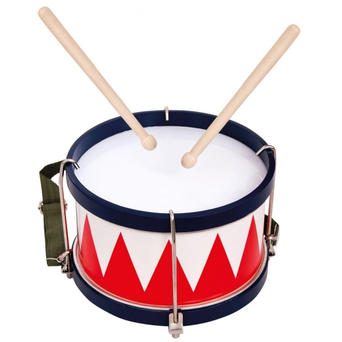 Картинка барабана с палочками