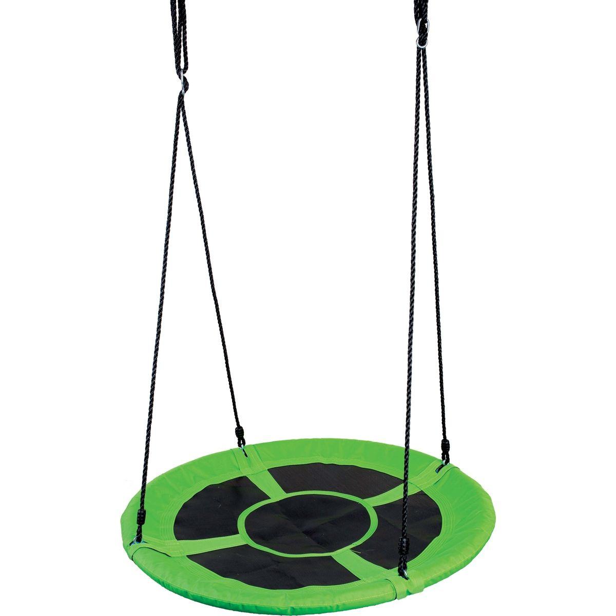 Bino Dětská houpací kruhová rohož zelená