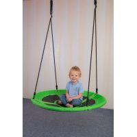 Bino Dětská houpací kruhová rohož zelená 2