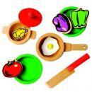 Bino Dětská kuchyňka s příslušenstvím 17 dílů 2