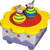 Bino Hrací skříňka myšky - poškozený obal