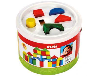 Bino Kostky v kbelíku 30 ks