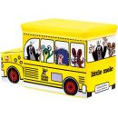 Bino Krteček Krabice na hračky autobus 3