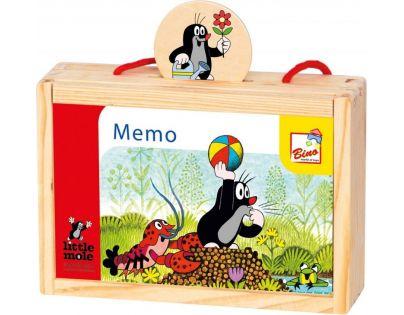 Bino Krteček Memo v krabičce