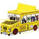 Bino Krteček Krabice na hračky autobus 2