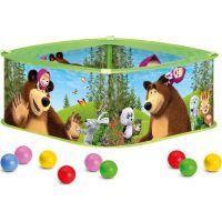 Bino Máša a medvěd Bazének s balónky 2