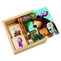 Bino Máša a medvěd Memo v krabičce