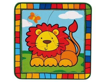 Bino 88002 - Puzzle lev