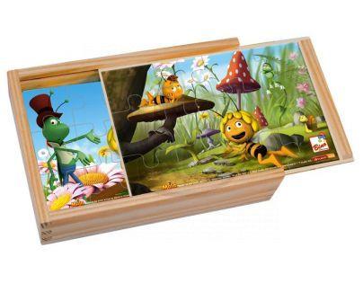 Bino Puzzle v krabičce Včelka Mája 12 dílků