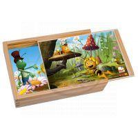 Bino 13622 - Včelka Mája –  puzzle 12 dílků