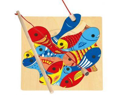 Bino magnetická hra rybičky s udičkou