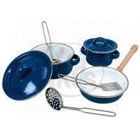 Bino 83395 - Sada smaltovaného nádobí (8 ks)