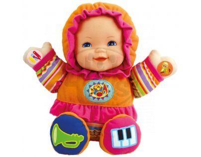 Bino 88407 - Veselá panenka se zvuky