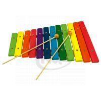 Bino 86554 - Xylofón - 12 tónů