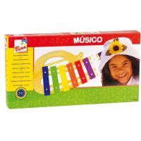 Bino oblúkový xylofón 4