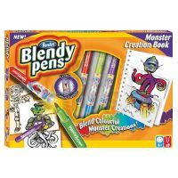 Blendy pens Monster Creation Book
