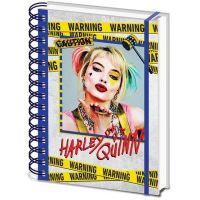 Epee Merch Blok A5 kroužkový Harley Quinn