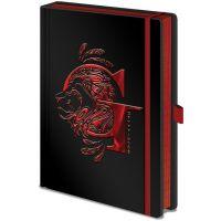 Epee Merch Zápisník A5 premium Harry Potter Nebelvír
