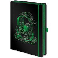Epee Merch Zápisník A5 premium Harry Potter Zmijozel