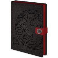 Zápisník A5 premium Hra o Tróny Targaryen