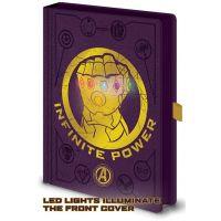 Epee Merch Zápisník A5 premium svítící Avengers