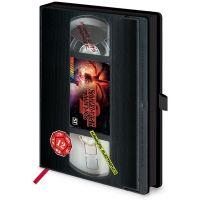 Zápisník A5 premium Stranger Things VHS