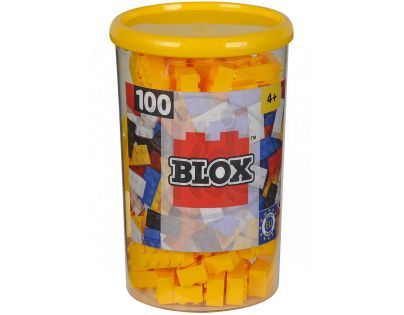 Blox 100 Kostičky žluté