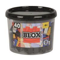 Blox 40 Kostičky černé