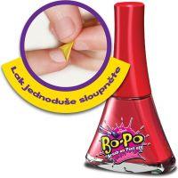 Bo-Po Lak na nehty a balzám Světle růžová a zmrzlina 2