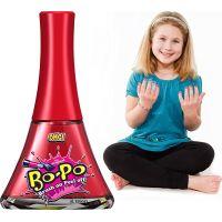 Bo-Po Lak na nehty a balzám Světle růžová a zmrzlina 3