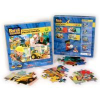 Bob Builder Puzzle SET v krabici, 4x24d