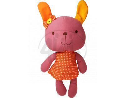 Bobbie & Friends plyš 20 cm se zvuky - 3 druhy - Králíček