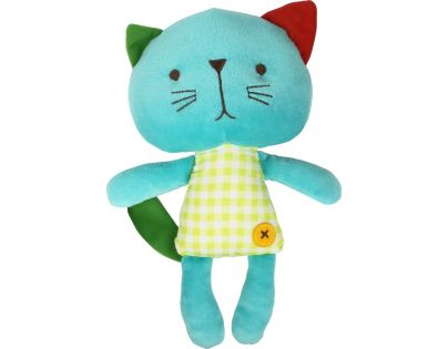 Bobbie & Friends plyš 20 cm se zvuky - 3 druhy - Kočička