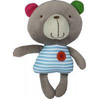 Bobbie & Friends plyš 20 cm se zvuky - 3 druhy - Medvídek