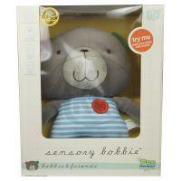 Bobbie & Friends Plyšový medvěd se zvuky 35cm