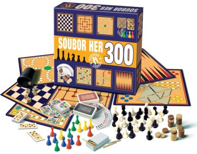 BONAPARTE 502401 - Soubor her 300 herních variant společenská hra
