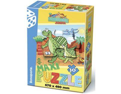 Bonaparte Maxi puzzle Junior Prehistoric 30dílků