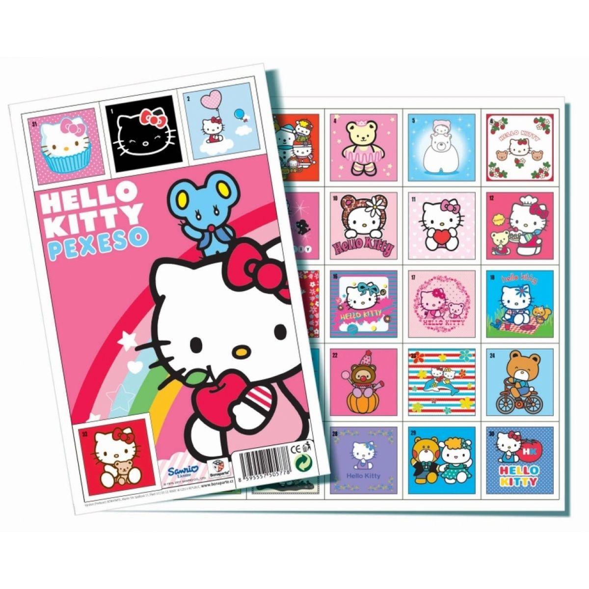 BONAPARTE 05778 - Pexeso Hello Kitty