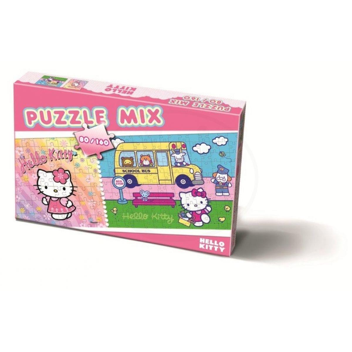 Bonaparte Puzzle 80 a 160 dílků Hello Kitty