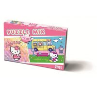 BONAPARTE Puzzle 80 a 160 dílků Hello Kitty
