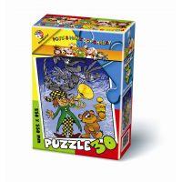BONAPARTE Puzzle Pojďte s námi do pohádky 30 dílků