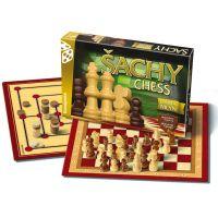 BONAPARTE 4644 - Šachy, dáma, mlýn