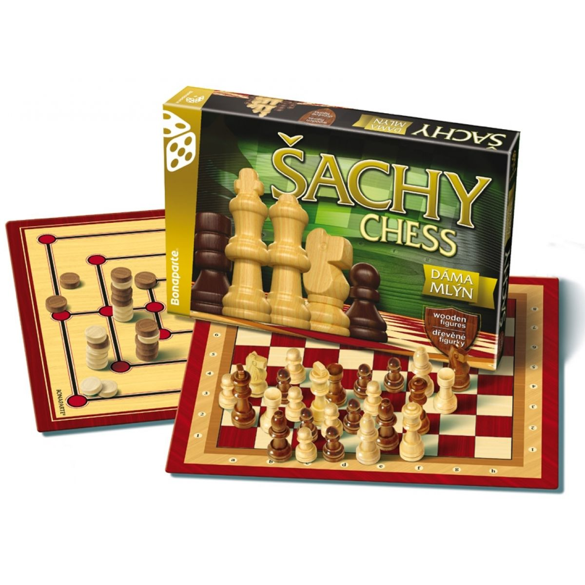 Bonaparte Šachy, dáma a mlýn