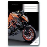 BONAPARTE 10222 - Sešit 523 MOTO SPEED