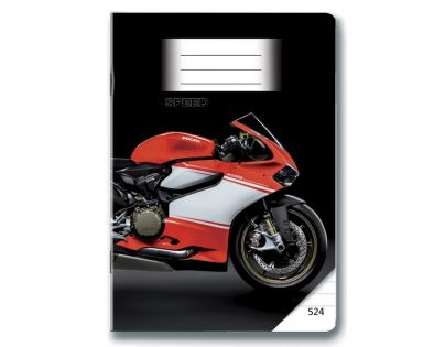 BONAPARTE 10239 - Sešit 524 MOTO SPEED